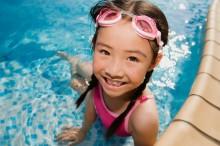 Young Girl in Swimming Pool