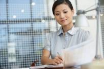 Confident financial advisor