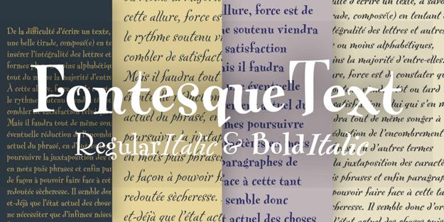 FF Fontesque Text