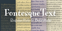FF Fontesque Text