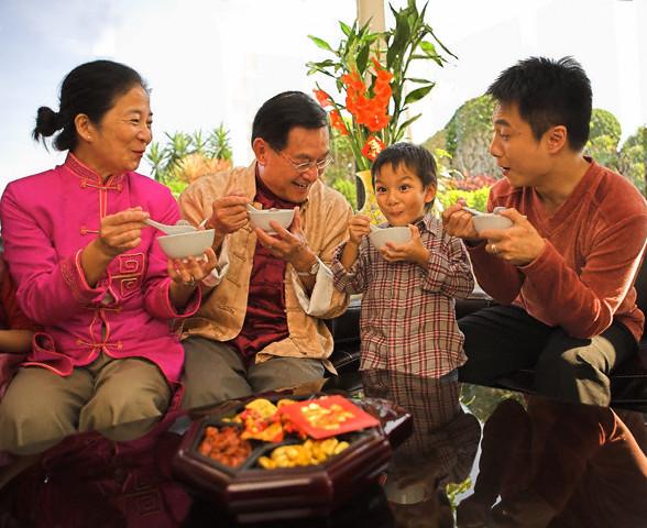 Eating Sweet Dumplings