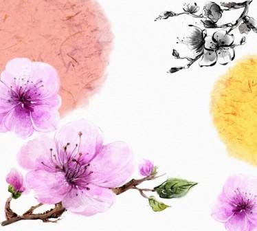 2021 lunar year illustration oriental mood