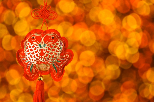 New Year, Chinese New Year, Good Luck Charm,