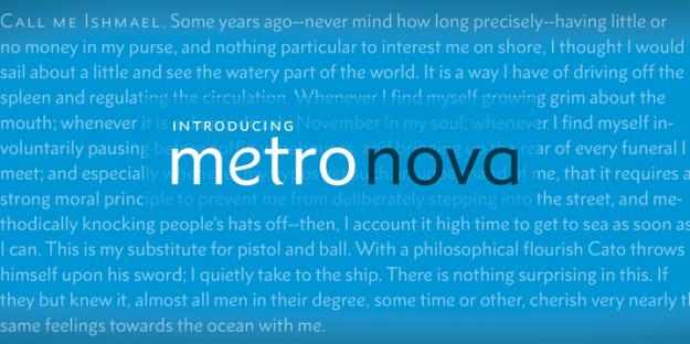 Introducing Metro Nova_mf