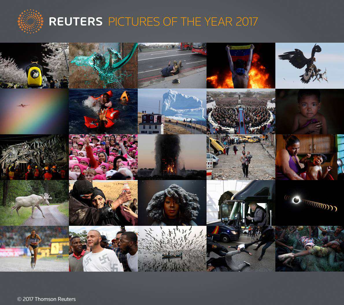 Reuters Pictures of the Year 2017